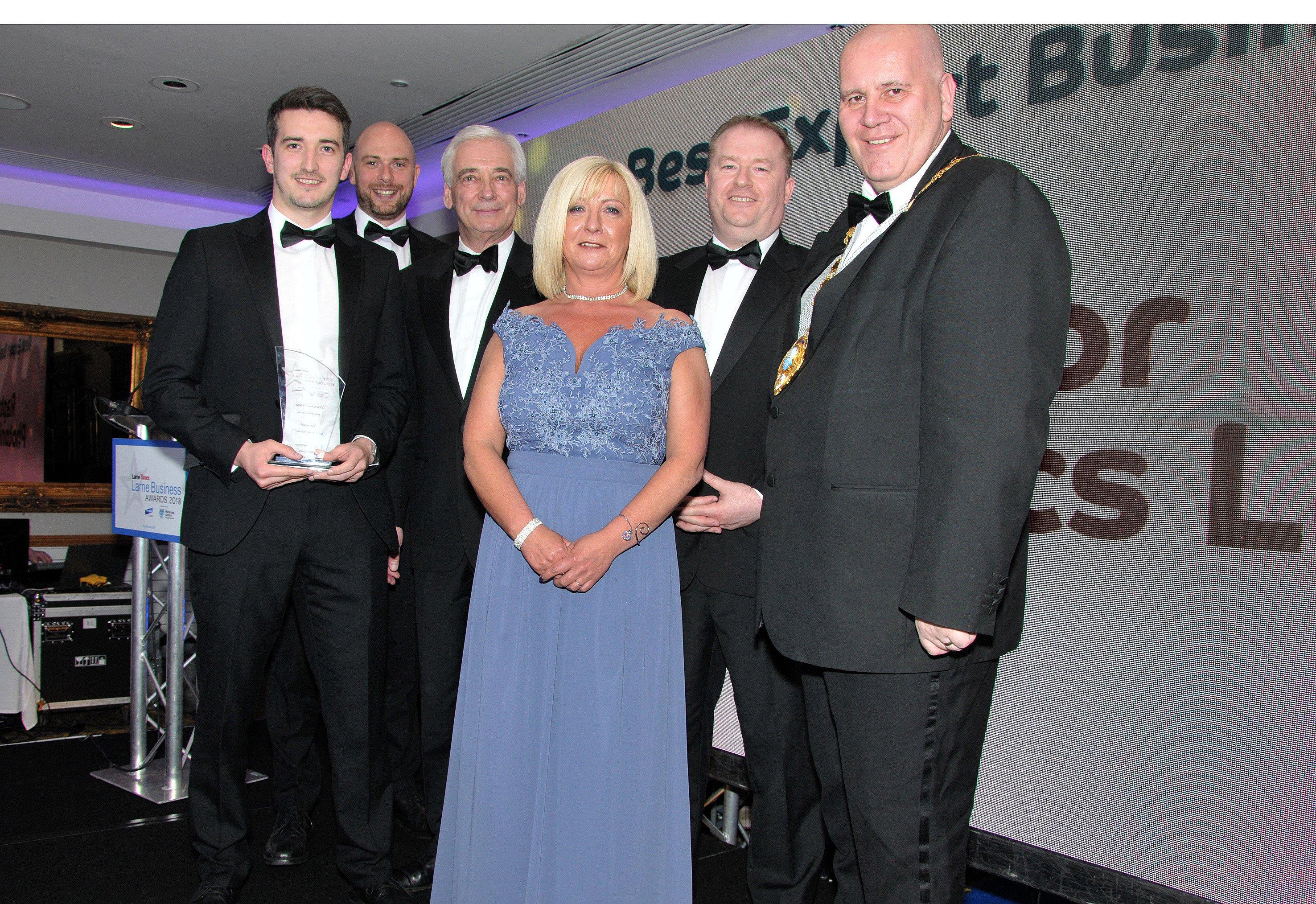 Raptor Photonics Ltd won the Best Export Business Award.